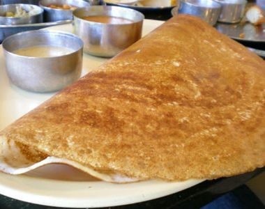 dosa 380x300 - Corn, Rice and Dal Pongal