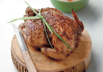 Ginger and Five Spice Fried Chicken