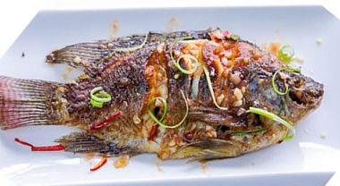 fried fish tamarind sauce 380x208 - Thai Beef Salad