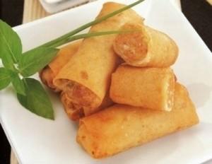 fried rice rolls