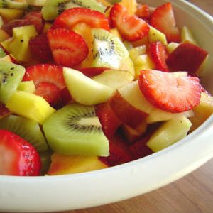 Aval (Poha) Fruit Salad