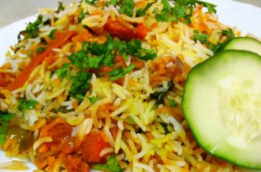 fullvegbiryani 380x250 - Mixed Vegetable Biryani