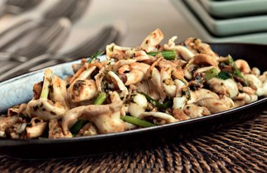 garlic soy mushrooms 380x246 - Garlic Soy Mushrooms