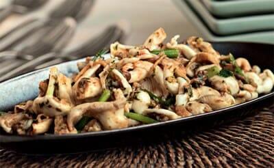 Garlic Soy Mushrooms