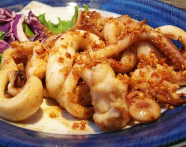 garlic squid 380x300 - Five Spice Chicken