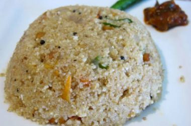 godhuma rava vegetable upma 380x250 - Wheat Rava Vegetable Upma