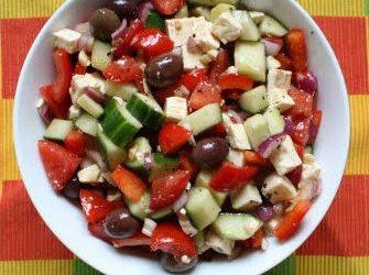 greek village salad 335x250 - Greek Village Salad