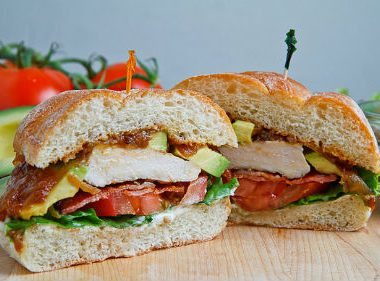 grilled chicken club sandwich 380x281 - Singapore Cuisine: Adding Health to Taste