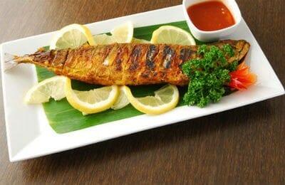 Grilled Mackerel with Coriander