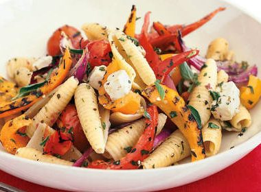 grilled vegetable pasta 380x280 - Fox Trot