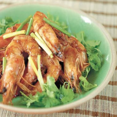 honey ginger shrimp 380x380 - Ghee Rice