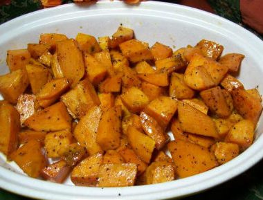 honey glazed sweet potato 380x289 - Navadhanya Biryani