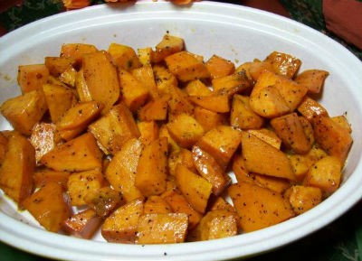 Honey Glazed Sweet Potato