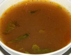 kozhi rasam - Egg and Baby Corn Masala