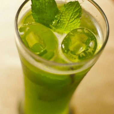 lime mint cooler 380x380 - Vazhakkai (Raw Banana) Chutney