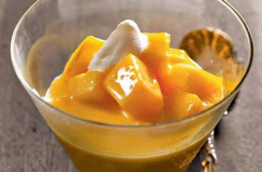 mango cream custard 380x250 - Mango Cream Custard