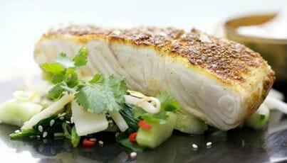Masala-Crusted Fish