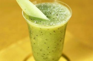 melon kiwifruit smoothie 380x250 - Melon and Kiwi Fruit Smoothie