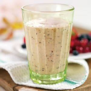Mixed Berry Milkshake
