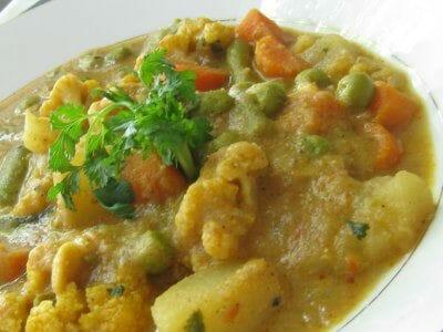 Mixed Vegetable Kurma Recipe Awesome Cuisine