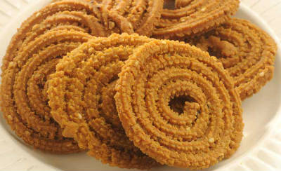 Coconut and Cardamom Murukku