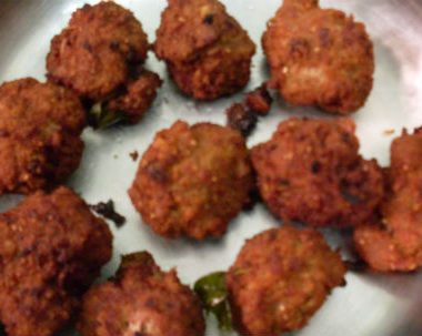 mutton balls 380x303 - Cucumber and Carrot Pickle