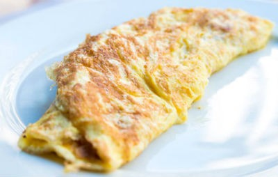 Cinnamon Apple Omelet