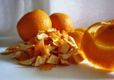 Orange Peel Pachadi