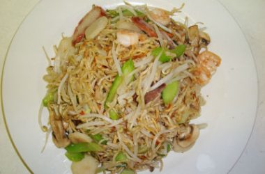 pan fried noodles 380x250 - Panfried Noodles