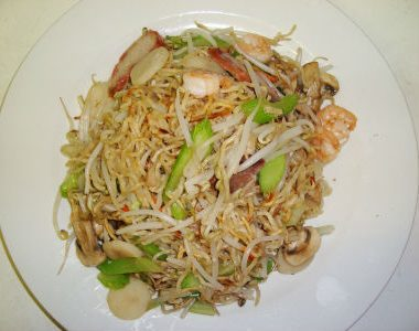 pan fried noodles 380x300 - Stir Fried Cabbage
