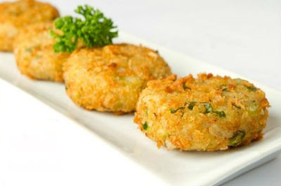 Potato and Corn Croquettes