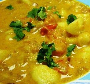 potato gravy - Masala Potatoes