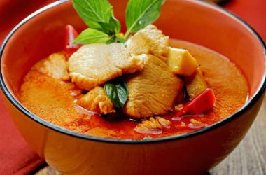 red curry chicken 380x250 - Red Curry Chicken