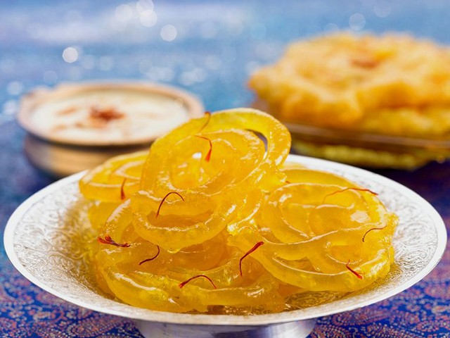 rose jalebi