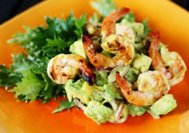 shrimp salad 380x267 - Nawabi Vegetable Gravy