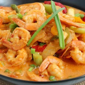 Thai Shrimp and Tofu Curry
