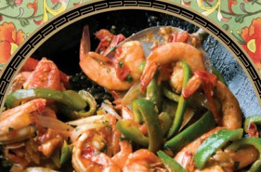 stir fried shrimps 380x250 - Stir-Fried Shrimp