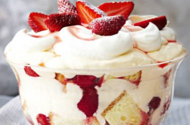 strawberry trifle 380x250 - Strawberry Trifle