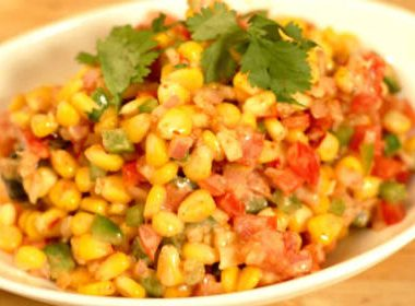 sweet corn chaat 380x280 - Apple Payasam