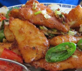 szechuan pepper fish - Szechuan Pepper Fish