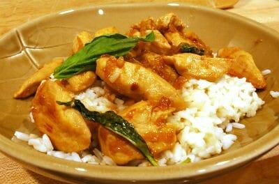 Thai Chicken with Basil