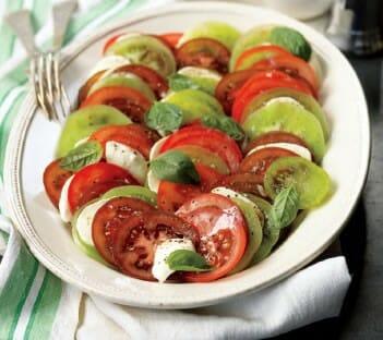 tomato caprese salad - Yummy Lassi Varieties