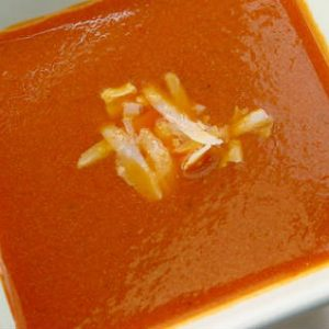 Tomato and Cheese Soup