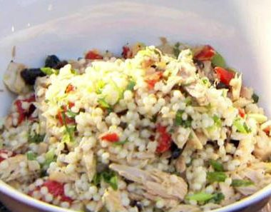 tuna couscous salad 380x297 - Oriental Fruit Salad with Chicken