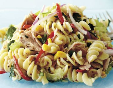 tuna pasta salad 380x296 - Five Spice Chicken Wings