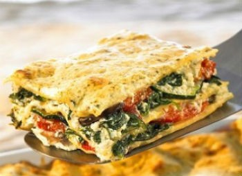vegetable lasagna - Ratatouille Tart