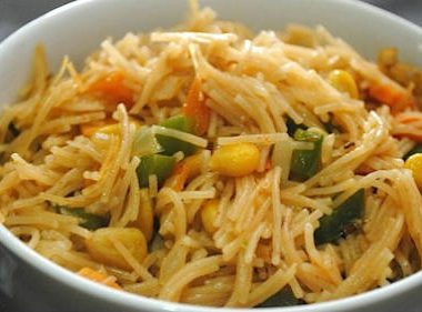 vermicelli upma 380x281 - Mustard and Curd Fish