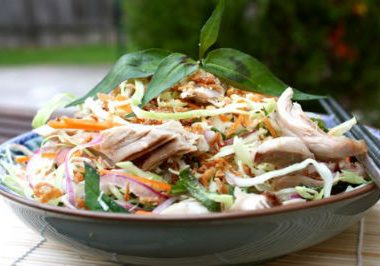 vietnamese chicken salad 380x266 - Thai Glass Noodle Salad