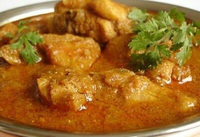 Chicken Curry with Yogurt