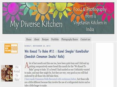 Aparna - My Diverse Kitchen